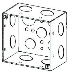 NEER 4SD-3/4 4X2-1/8D SQ BOX