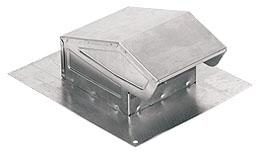 841AL ALUMINUM ROOF CAP 3 INCH OR 4 INCH ROUND DUCT QTY 1