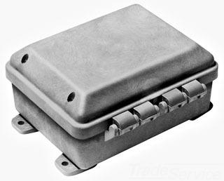 CJ1085 10 X 8 X 5 NEMA 4X HINGED JIC ENCLOSURE NON METALLIC QTY 1