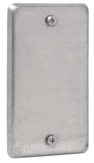 CRSH TP608 UTIL BOX BLNK CVR TOP 500 ITEM
