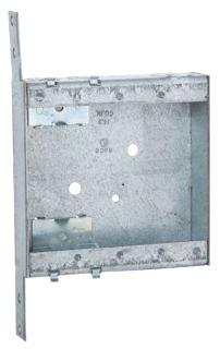 418 STEEL 2 GANG 1 INCH DEEP NEW WORK ROMEX BOX 14.8 CUBIC INCHES BOX QTY 25