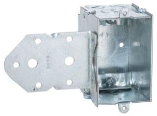 529 3 X 2 ROMEX BOX SIDE BRACKET 52-LBC (T&B) QTY 50