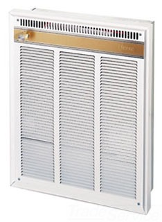 FRA4024F WALL HEATER 208/240 WITH FAN AND BUILT-IN THERMOSTAT QTY 1