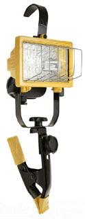 RAB QF150CL QUARTZ CLAMP PORTABLE 120V AND LAMP