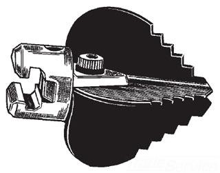 "Ridgid 59770 3-1/2"" Drain Cleaner Machine Blade Cutter"