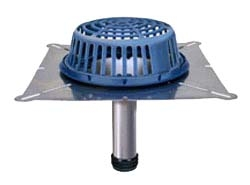 """Zurn RD2150-SS4 4"""" Stainless Steel Bottom Outlet Roof Drain"""