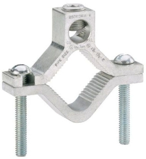 PAND GC-22A-4 ALUMINUM GROUNDING CLAMP DUAL RATED #6