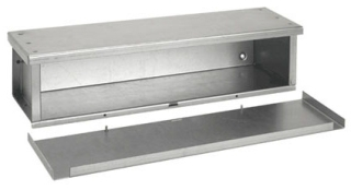 HOFF F4448RTGV BASIC GALVIZED 3R TROUGH