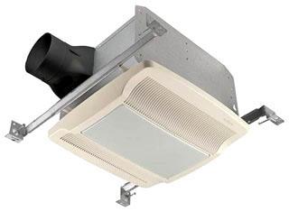 NUT QTREN110FLT 110 CFM 1.3 SONES ENERGY STAR FAN/FLUORESCENT LIGHT/NIGHT-LI