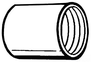 CONDUIT 1-1/2-GALV-CPLG COUPLING