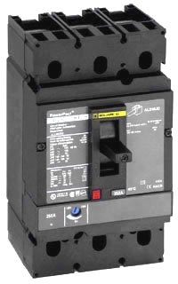 SQD JDL36200 MOLDED CASE CIRCUIT BREAKER 600V 200A