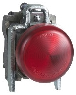 SQD XB4BVG4 RED PILOT LIGHT