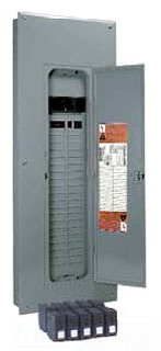 SQD HOMVP15 200AMP MB 40 CIR VALUE PACK LOAD CENTER W/10-HOM120