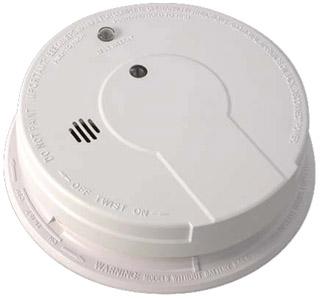 KID 21006378 120V AC W/9V BACKUP FRONT PULL TAB HUSH (REPL 1275)