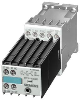 SIEM 3RT1916-2EC21 TIMER ON-DELAY 120V 0.5-10SEC