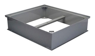 """Zurn JP2700-50-6-EXT 27-1/4"""" X 24-1/4"""" X 6"""" Corrosion Resistant Coated Fabricated Steel Grease Interceptor Trap Extension"""