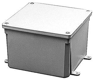 PVC JB664 6X6X4 JCT BOX E987R TOP 500 ITEM