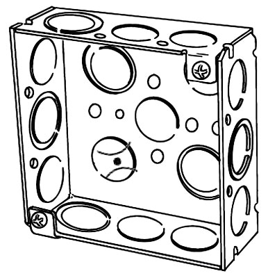 NEER 4SEK 4X1-1/2D SQ BOX 1/2&3/4 TOP 500 ITEM