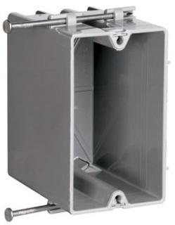 P&S S1-22-R 1G PLSTC OUTLET BOX