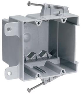 S235RAC 2 GANG NEW WORK NM BOX QUICK CLIC UL CLASSIFIED 2 HR FIRE RESISTANCE QTY 1/50