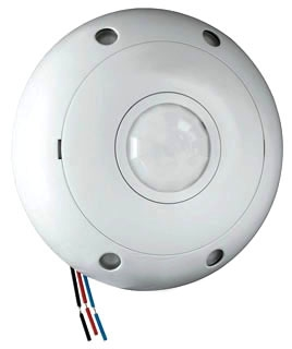 CSD1000LV DUAL TECHNOLOGY CEILING OCCUPANCY SENSOR 120/277/347 VAC 50-60HZ WHITE QTY 1