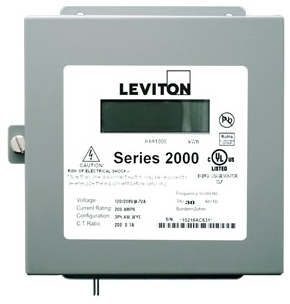 2N208-21 200 AMP THREE ELEMRNT METER 120/240/208V 3PH 4 WIRE INDOOR SURFACE MOUNT ENCLOSURE METER ONLY REQUIRES (3) 200A CURRENT TRANSFORMERS QTY 1