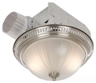 BRO 741SN DECOR GLASS FAN/LIGHT