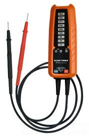 ET100 600 VOLT ELECTRONIC VOLTAGE TESTER SOLID STATE ELECTRICAL TESTER MEASURES AC/DC VOLTAGE QTY 1