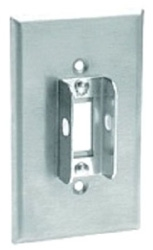 84001-LOK 302 STAINLESS STEEL LOCKOUT WALL PLATE WITH TAMPER RESISTANT SCREWS QTY 1