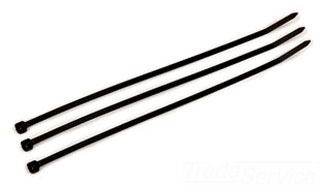 """MMM59300 CT11BK50C CABLE TIE STANDARD 3M WEATHER RESISTANT 0.18"""" WIDE X 0.05"""" THICK X 11"""" LONG 3.1"""" COLOR BLACK QTY 100/1000"""