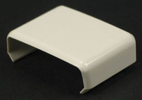 806 CLIP COVER COUPLING NON-METALLIC PVC SERIES 800 FINISH IVORY QTY 10/50