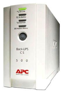 APC BK500 500VA/300W CS500 120V UPS