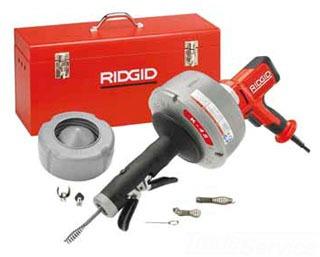 Ridgid 48482 Drain Cleaner Machine Tool Set