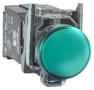 SQD XB4BVB3 GREEN PILOT LIGHT