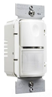 WSP250LA WALL MOUNT OCCUPANCY SENSOR LIGHT ALMOND QTY 1