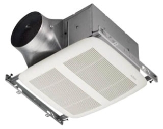 XN110 110 CFM ULTRA SERIES SINGLE SPEED EXHAUST FAN 0.3 SONES ENERGY STAR QTY 1