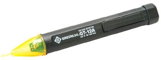 GT-12A AC VOLT DETECTOR TIP GLOWS AND BEEPER SOUNDS 2 AAA BATTERIES INCLUDED QTY 1/10