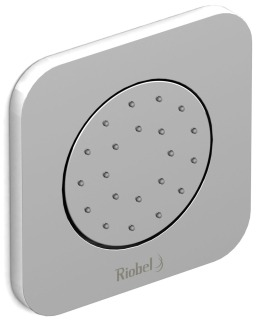 "Riobel 372C 1/2"" Mpt 1.2Gpm Chrome Directional Scale-Free Body Jet"