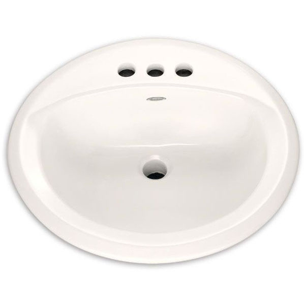 A/S 0490.156.020 CHO RONDALYN COUNTERTOP LAV SINK, SINGLE HOLE, WHITE