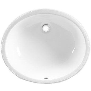 A/S 0496.221.020 WHITE OVALYN UNDERMOUNT LAVATORY 19-1/4 X 16-1/4 (REPLACES 0496.011.020)