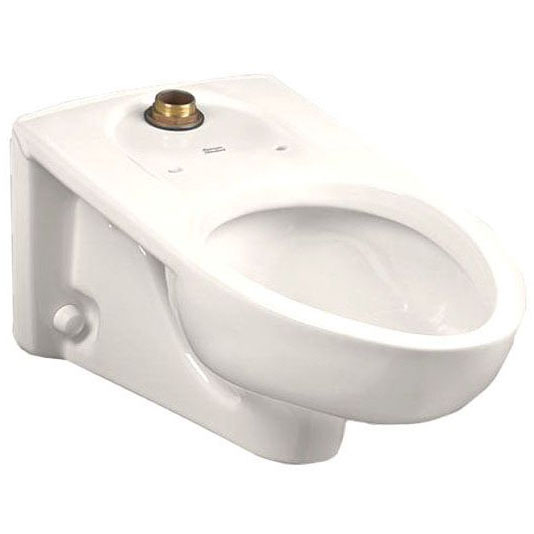 A/S 3351.101.020 EL AFWALL WALL HUNG TOILET BOWL WHITE EVERCLEAN OPERATES 1.0GPF TO 1.6GPF