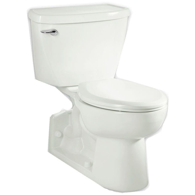 A/S 3701.001.020 WHITE EL YORKVILLE PRESSURE ASSISTED REAR OUTLET BOWL 1.6GPF (CAN ALSO BE USED W/ 1.1GPF TANK)