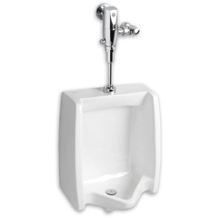 A/S 6590.001.020 WHITE UNIVERSAL WASHBROOK URINAL 0.125GPF - 1.0GPF (TOP SPUD)
