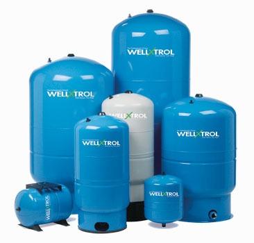 AMTROL WELL-X-TROL WX-101 INLINE PUMP TANK 2 GAL, 8