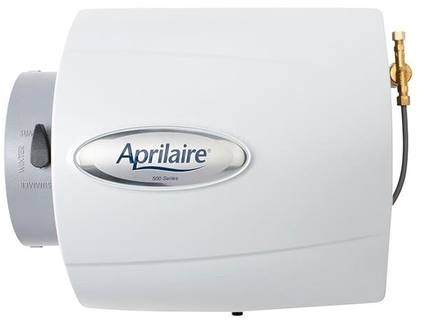 APRILAIRE 500 SMALL BYPASS HUMIDIFIER W/ DIGITAL CONTROL PANEL (REPLACES 500A) MC263090