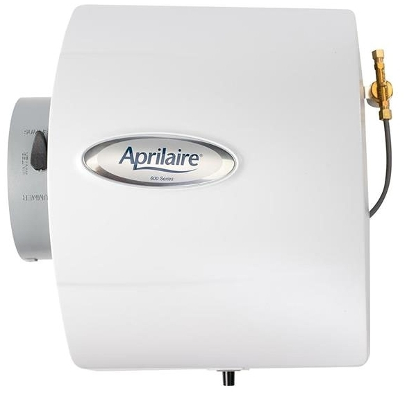 APRILAIRE 600 LARGE BYPASS HUMIDIFIER W/ DIGITAL CONTROL (REPLACES 600A) MC263089