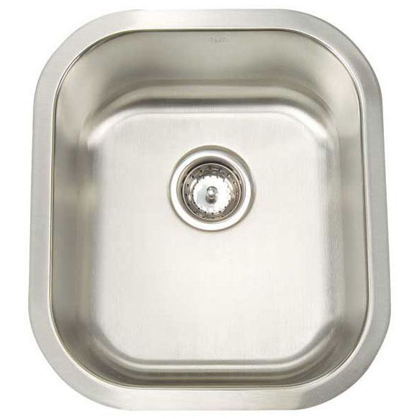 ARTISAN A1618 D8-D SINGLE BOWL SINK 16X18X8 16 GAUGE