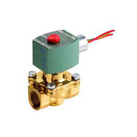 "ASCO 8210G095 3/4"" 120V N.C. AIR/WATER"