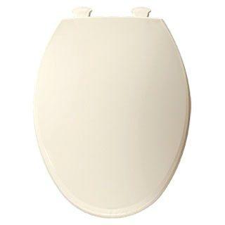 BEMIS 1800EC-346 EL *CFWC* BISCUIT/LINEN PLASTIC TOILET SEAT W/EASY CLEAN & CHANGE HINGE ** MADE IN USA **