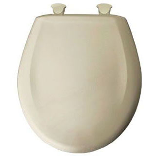 //WSL// BEMIS 200SLOWT-006 RF *CFWC* BONE PLASTIC TOILET SEAT WHISPER CLOSE W/EASY CLEAN & CHANGE HINGE MC89712